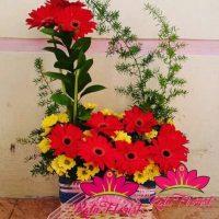 jual bunga vas jakarta