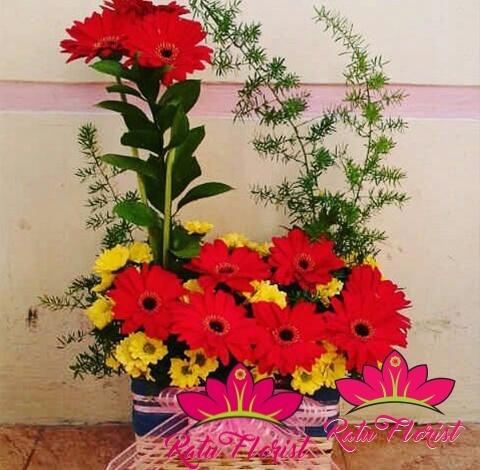 toko bunga, Home