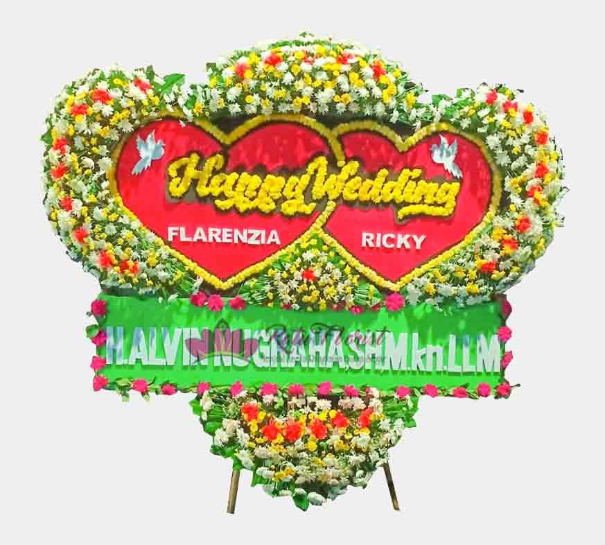 Bunga Papan Wedding 10