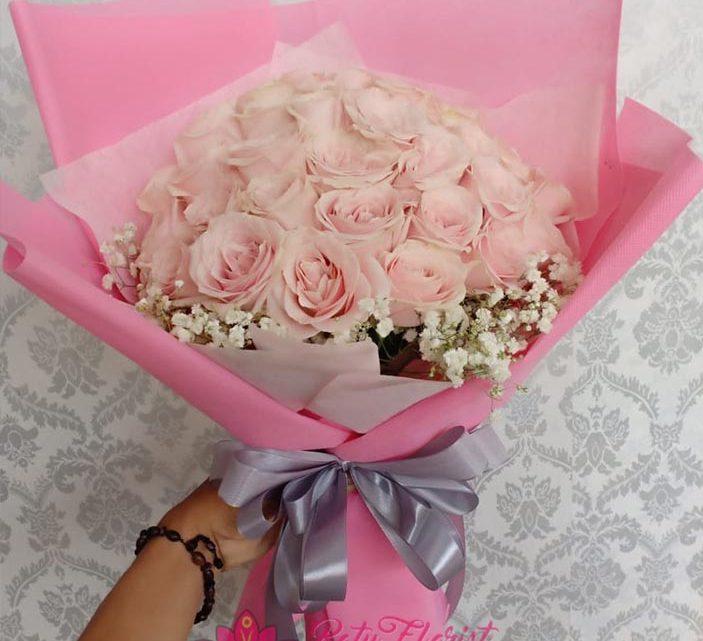 Gambar Bunga buket, Gambar Rangkaian Bunga Buket/Hand bouquet