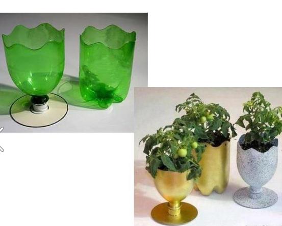 , Cara Membuat Pot Bunga Dari Barang Bekas